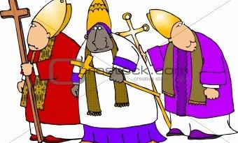 مرزا آفت بیگ اور اسقف اعظم