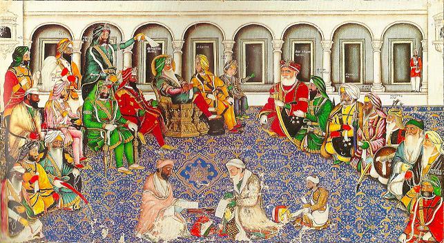 Darbar_of_Maharaja_Ranjit_Singh_-_Hasan_al_Din_-_c1850