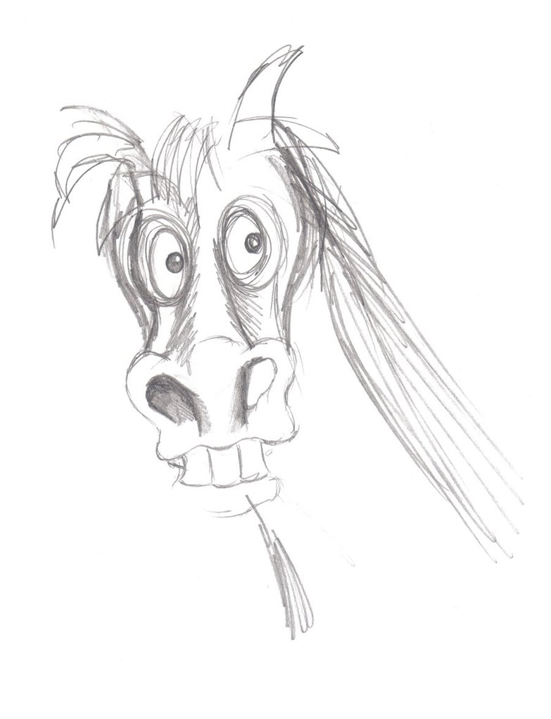 horse_sketch_3___horse__s_head_by_anitalou-d4lvauz