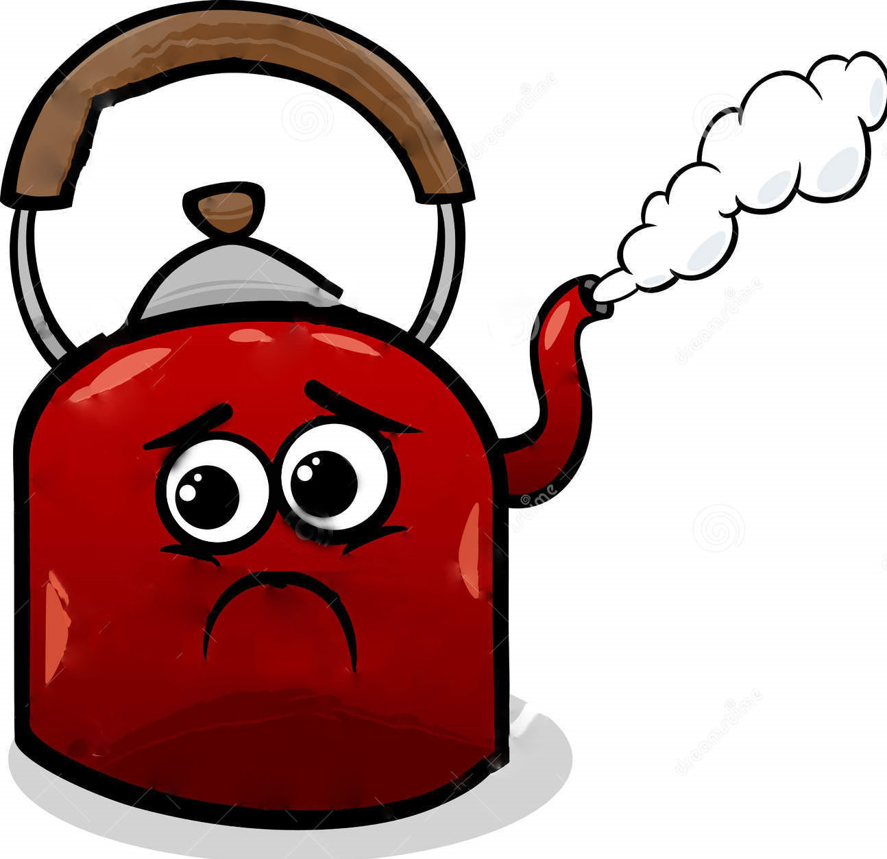 kettle-steam-cartoon-illustration-37614833