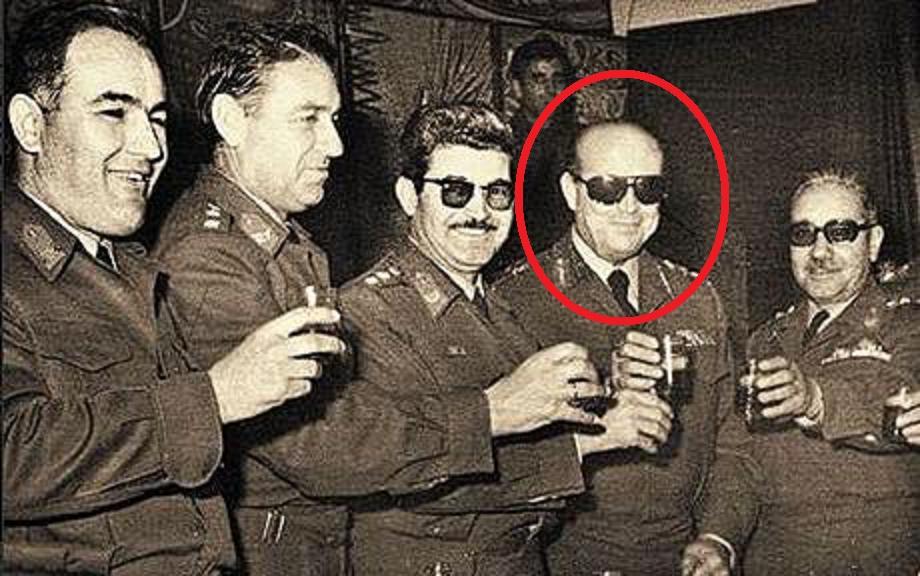 The Colonels of Greek Junta